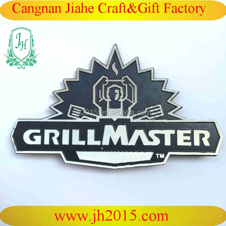 Custom nameplate metal signs aluminum for company logo tag