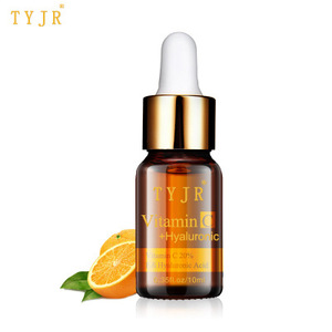 TYJR Skin Care Facial Serum Anti Aging Brightening Natural Organic Vitamin C 20% Serum For Face With Hyaluronic Acid Serum
