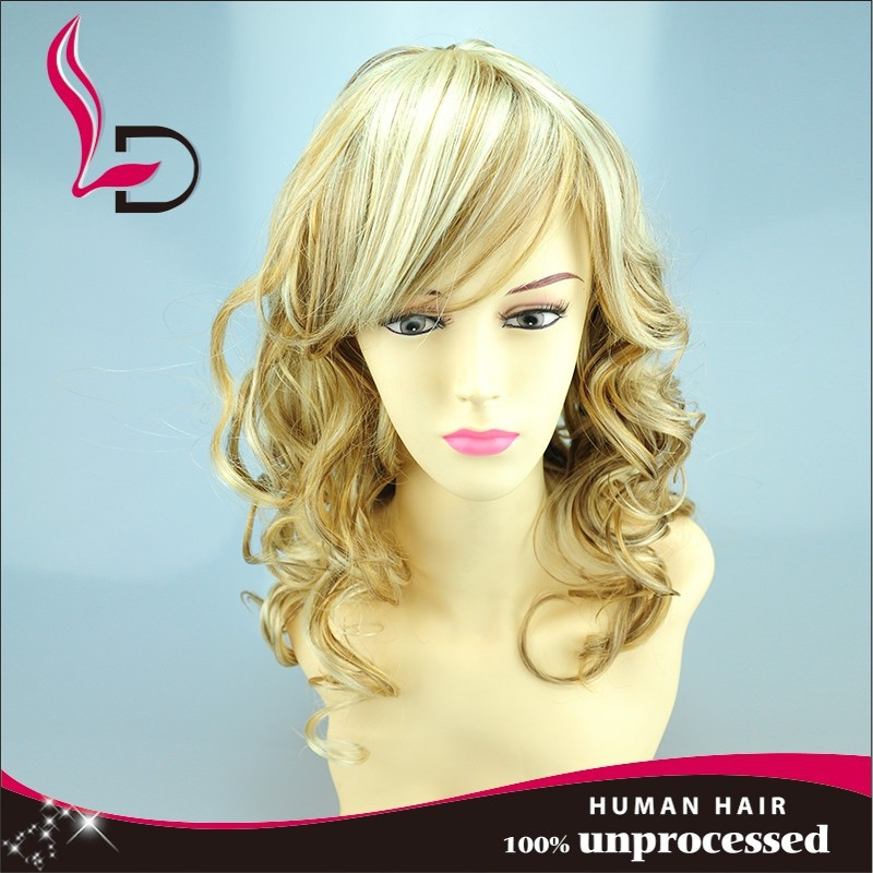 Hot sale new beauty fashion products cheap and fine remy hair brazilian invisible part wig remy human hair