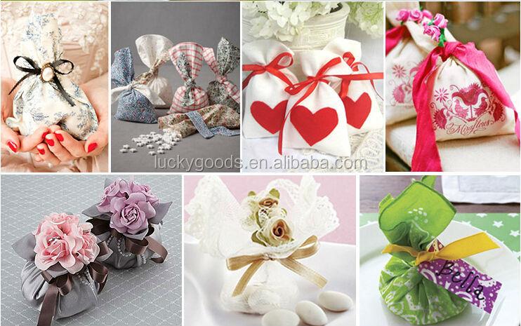 Custom Personalized Light Purple Wedding Cake Bags Wholesale Buy