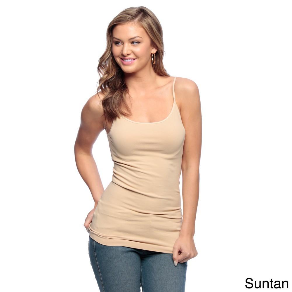a3f2426b23d0d Fancy Camisole Women s Spaghetti Strap Long length Cami Tank Tops wholesale
