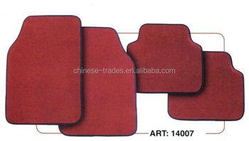 Auto Fußboden Teppich ~ Stücke hohe qualität oem universal teppich auto matten auto