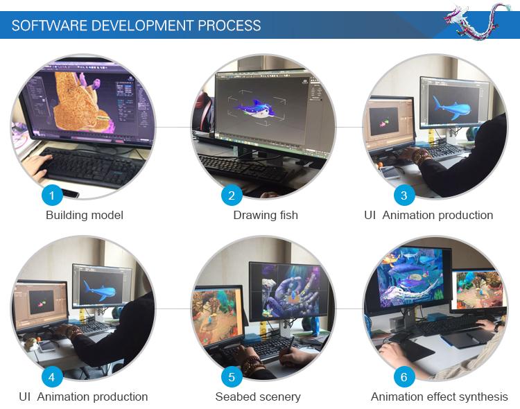 महासागर राजा 2 3 राक्षस प्लस मछली शिकारी मछली पकड़ने टेबल जुआ खेल मशीन सॉफ्टवेयर के साथ किट