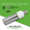 Aviation aluminum 12W LED bulb best price with fin heat sink corn cob light 5 years warranty