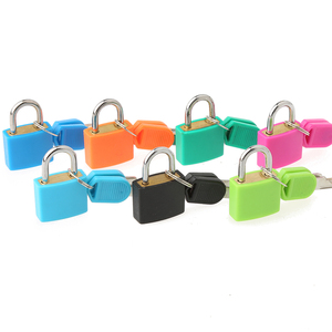 CH-CX01 20mm key padlock with colorful ABS cover