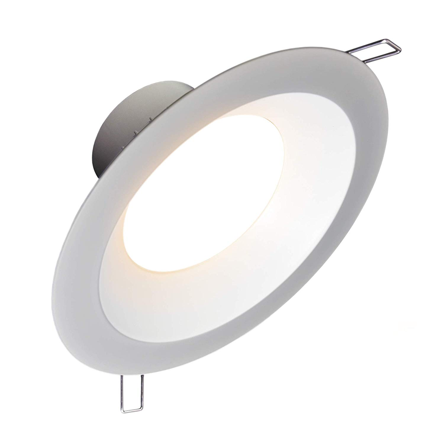 "8"" Inch (Canless Retrofit Module) LED Downlight 30W; 120-277V; Dimmable at 120V; 2500 Lumens; Round Lens; Intertek & Energy Star Listed; 5 Year Warranty (Warm-White 3000K)"