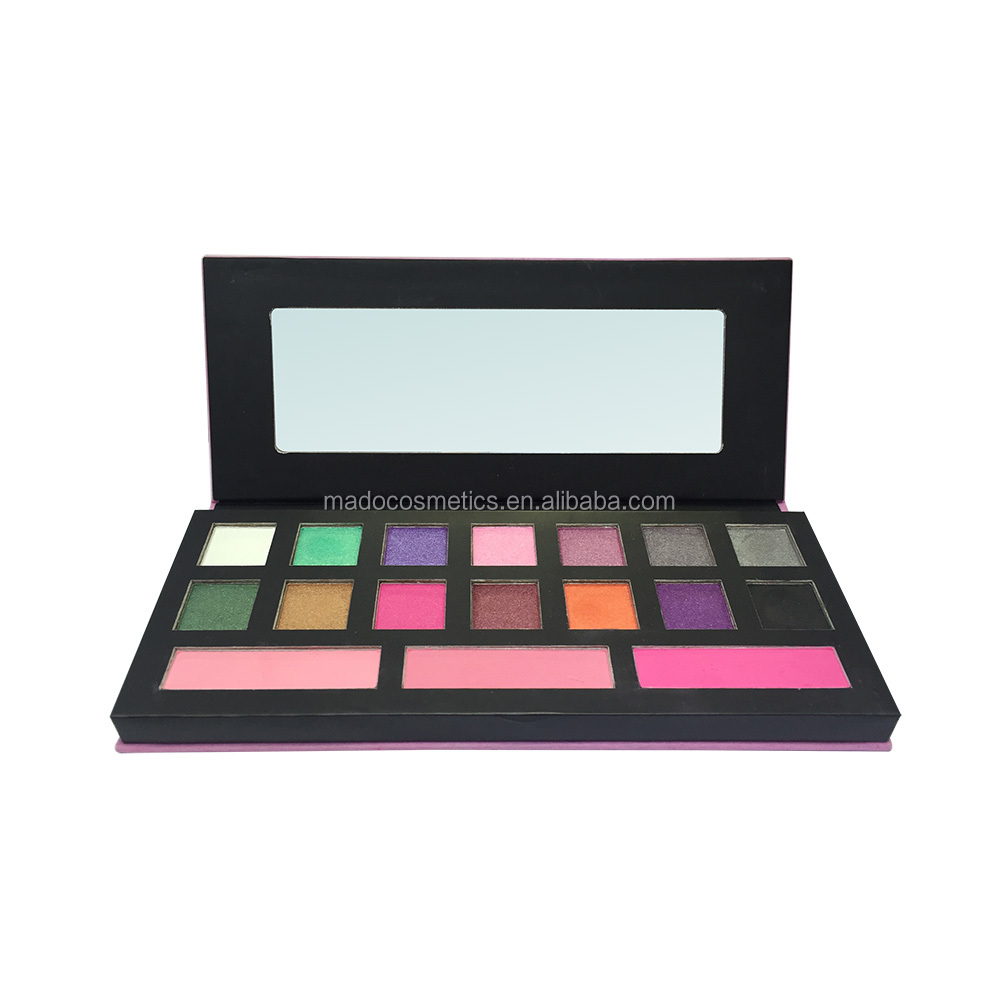 Create your own brand colorful eyeshadow palette best powder eyeshadow
