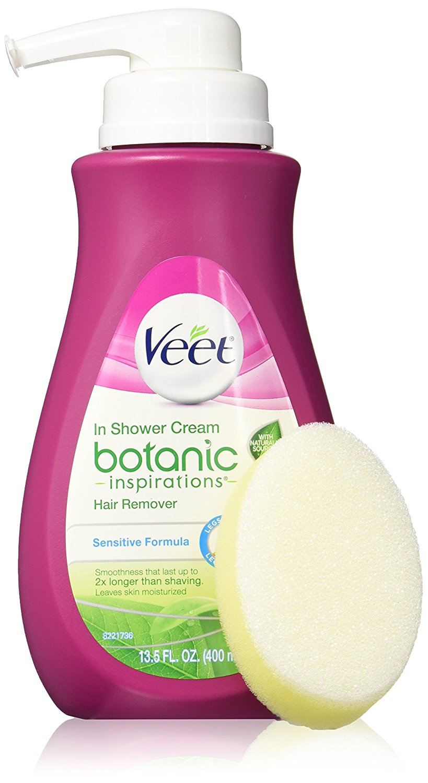 Buy Veet Botanic Inspirations In Shower Cream 13 5 Fl Oz For