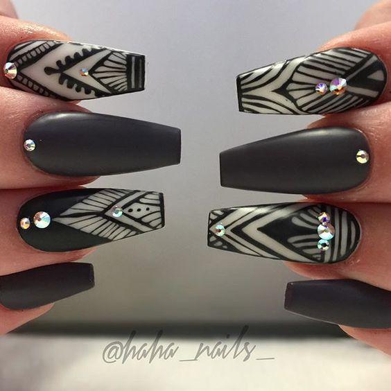 Venta al por mayor diseños de uñas mate-Compre online los mejores ...