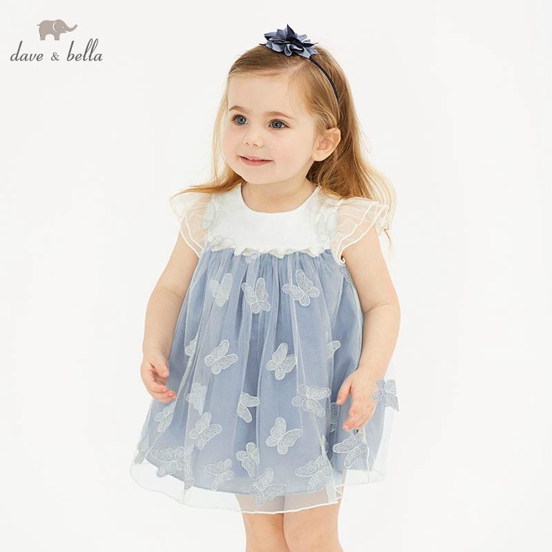 OCEAN-STORE Toddler Girls Princess Dress Kids Baby Party Wedding Sleeveless Summer Dresses