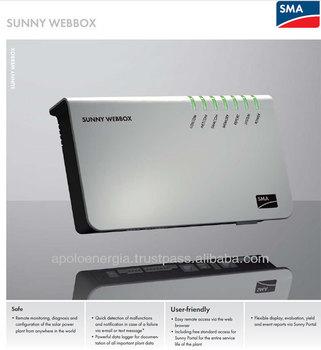 Sma Sunny Webbox Remote Monitoring And Maintenance Of