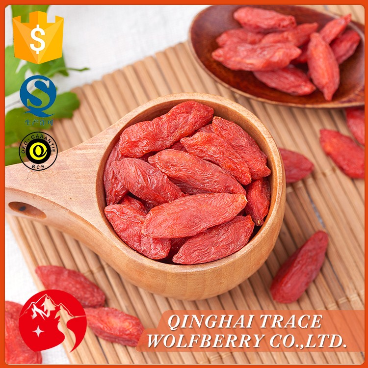 New crop organic dried wolfberry,dried goji fruit,import dried goji berries