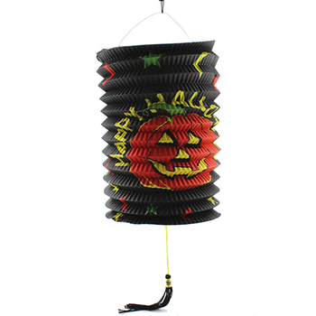 chinese style accordion shape halloween decoration foldable paper