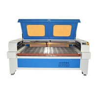 1812/1810 double heads co2 laser cutting/engraving machine 2mm 3mm leather/fabric/clothes cutter