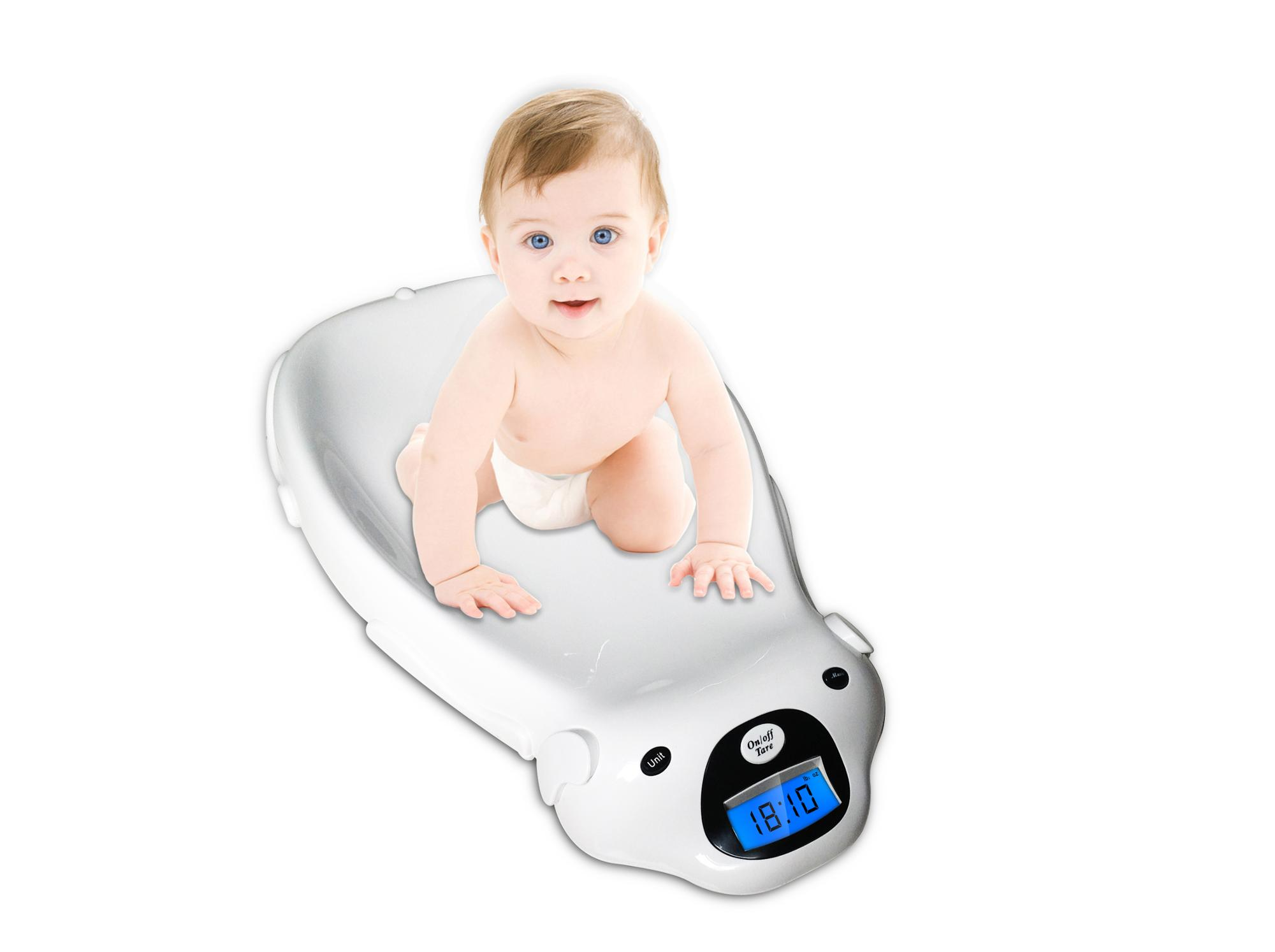 Good quality new ultra newborn infant baby digital weight scale with music and grown-up chart