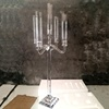 Hot Selling tall 90cm 5 arms cheap candelabras for sale