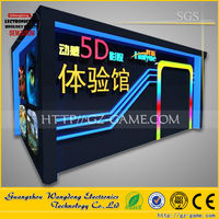Top level Trailer moving 5d 7d cinema theater movie, free movies electric system for sale