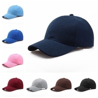 13 Colors Women Men Adjustable Classic Cheap Good Quality Pure Cotton Solid Blank Baseball Caps Plain Dad Hats for Custom Logo