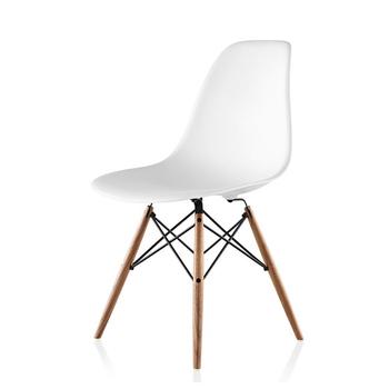 Einfache Design Weiss Restaurant Esszimmer Stuhl Kunststoff Stuhl Mit Holz Bein Buy Kunststoff Stuhl Esszimmer Stuhl Restaurant Stuhl Product On