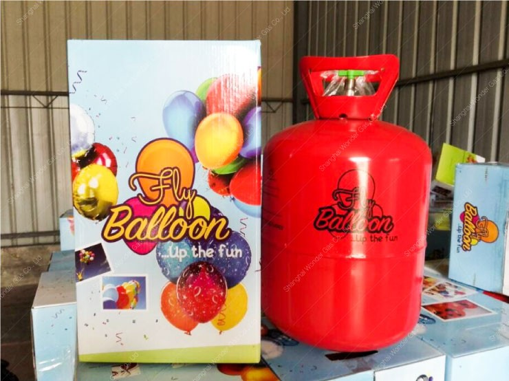 Latest Design 30LB Balloon Helium Gas Cylinder Disposable Helium Cylinder