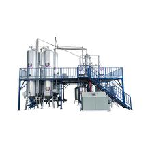 distillation machine to refine used engine oil