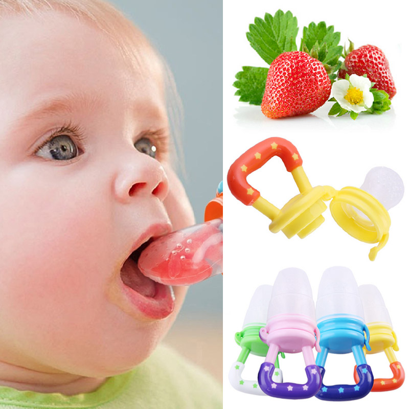 Hot Baby Fruits Vegetables Pacifier Holder Baby Pacifier Clips Clip Dummy Clips Cheap Nipple Baby Pacifier Feeding Nipples V1136