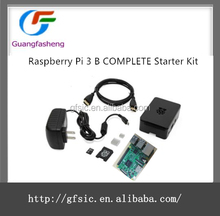 hot sale Raspberry Pi 3 B COMPLETE Starter Kit Black 16GB Pi3 Model B Computer Motherboard 64bit Quad-Core