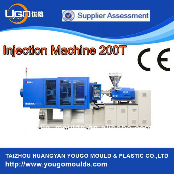 Cup making machine plastic injection molding machine 200T in Zhejiang China