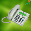 Analog telephone with 2 lines support 3 party conferences for office