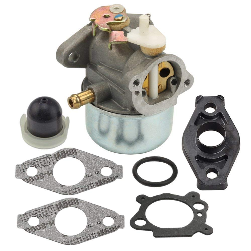 Buy New Lawn Mower Carburetor For Briggs 499059 121xxx 122xxx Stratton Engine Model 128802 Panari 799869 Gasket Primer Bulb And 792253 497586