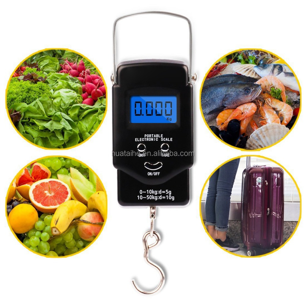 Shenzhen Electronic Products Used Livestock Scales Hoverboard Digital Luggage Hanging Scale