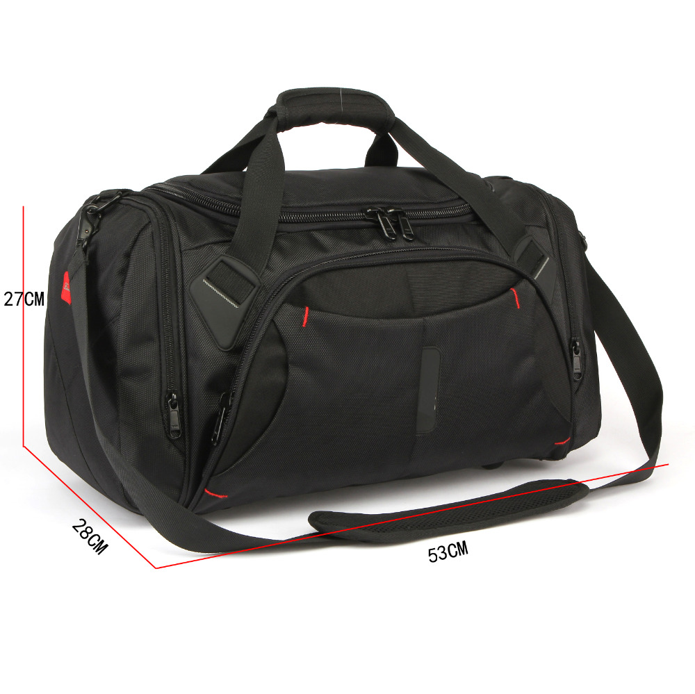 funky mens blank sports travel duffel gym bag with a custom logo