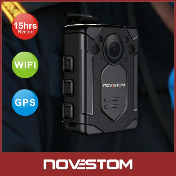 1080P Police security body camera with <strong>wifi</strong>/gps /video /recording /infrared /1080P/12-17hours recorder