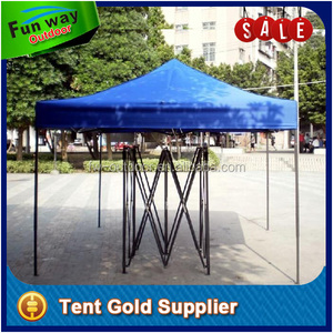 Black Steel Frame Folding Tent 3x3m