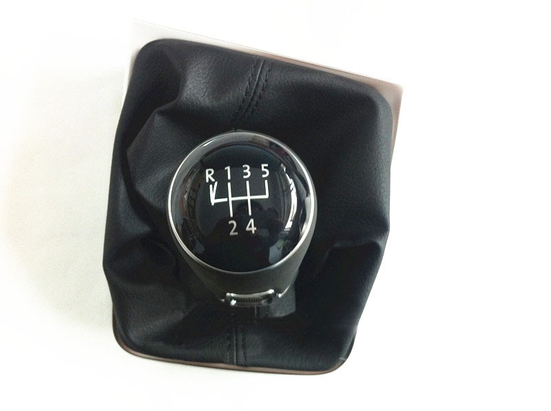 Original OEM Genuine leather MT Gear shift knob shift lever for VW Golf 7 mk7