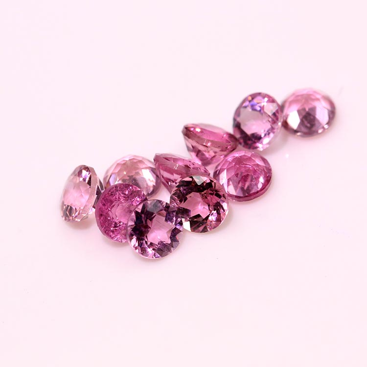 factory wholesale price natural pink tourmaline gemstone prices