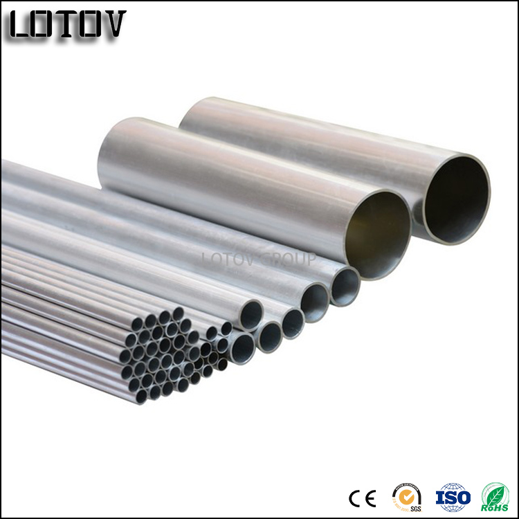 Seamless Extruded Aluminum Tube Crimping of Construction