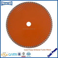 Sharpness Cutting Small Diamond Saw Blade For Quartzite