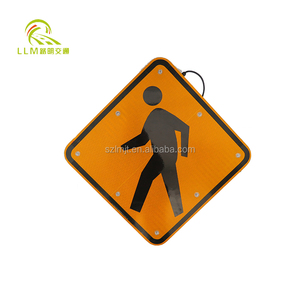 High quality custom traffic signs/3m reflective road sign traffic signals in china