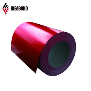Guangdong PE /PVDF Cost Price Color Coated Aluminium Coil from Construction Company Alibaba Website