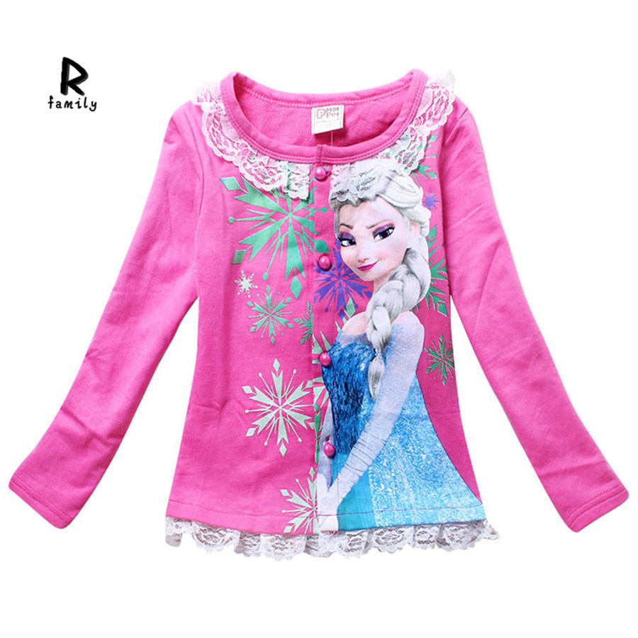 5a465291 Get Quotations · 2015 roupa infantil brand children girl t shirt nova kids  girl long sleeve t shirt vetement