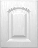 Kitchen Cabinet Components PVC Door Panel