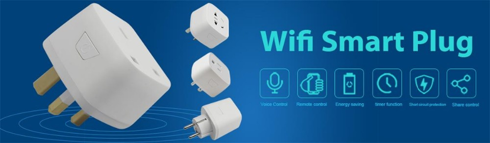 2018 Hot selling mini wireless wifi smart plug outlet WiFi Smart Socket for Amazon Echo Alexa Google Home