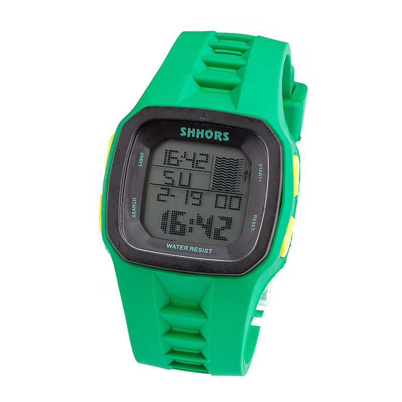SHHORS Brand Fashion Sport Silicone Watch Women 3 ATM Waterproof LED Digital Wristwatch Relogio Montre Enfant Relojes Mujer A405