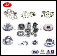 Custom High precision aluminium/ Alu/ CNC turned lathe part,OEM motorcycle parts,wholesale machine parts in dongguan