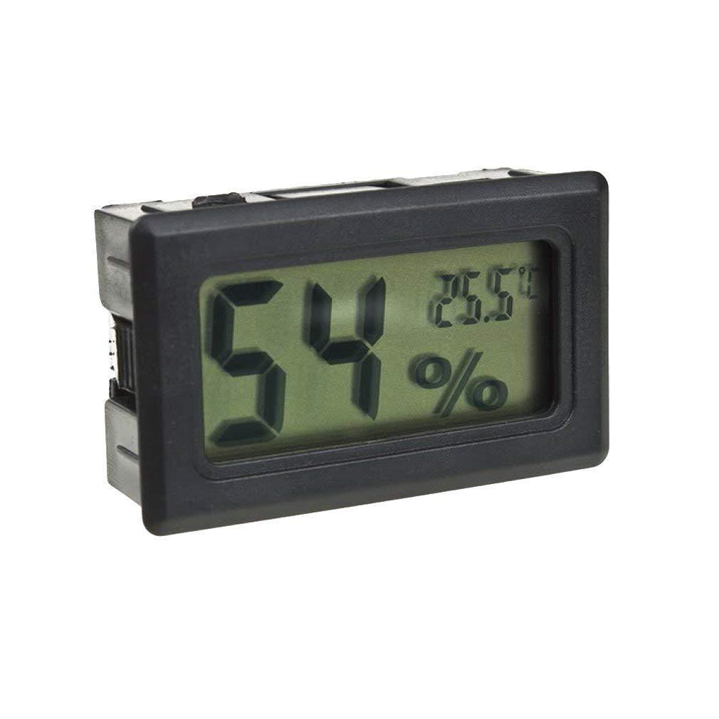 BUYEONLINE Mini Digital Lcd Thermometer Hygrometer Humidity Temperature Meter Probe