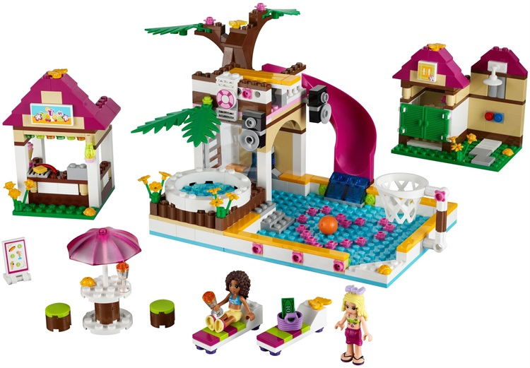UKLego Friends Heartlake Swimming Pool Park Set Toy.