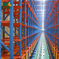 Teardrop pallet racks automatic warehouse storage system AS/RS