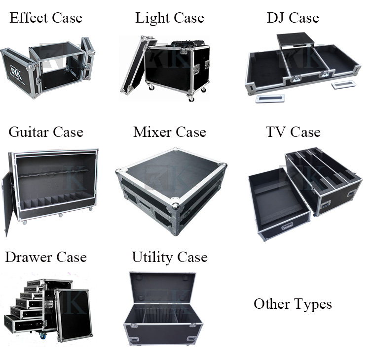 CDJ2000/DVJ1000 CD Players high quality DJ Coffin Case