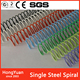 New ! Hot Sale! Nylon Coated Metal Binding Spiral Coil,Metal Binding Spiral Metal Single Spiral